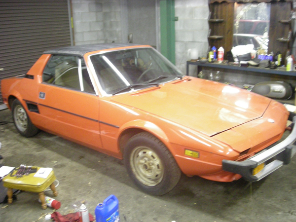 I bought two 1977 Fiat X1/9 cars