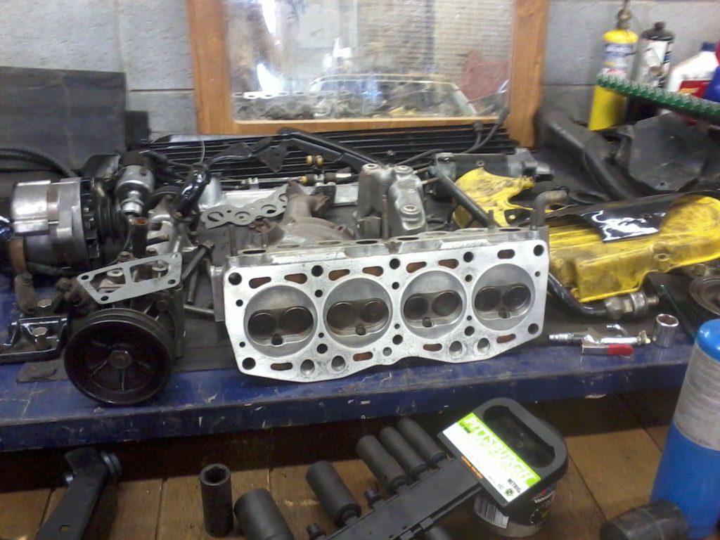 Engine Rebuild Head