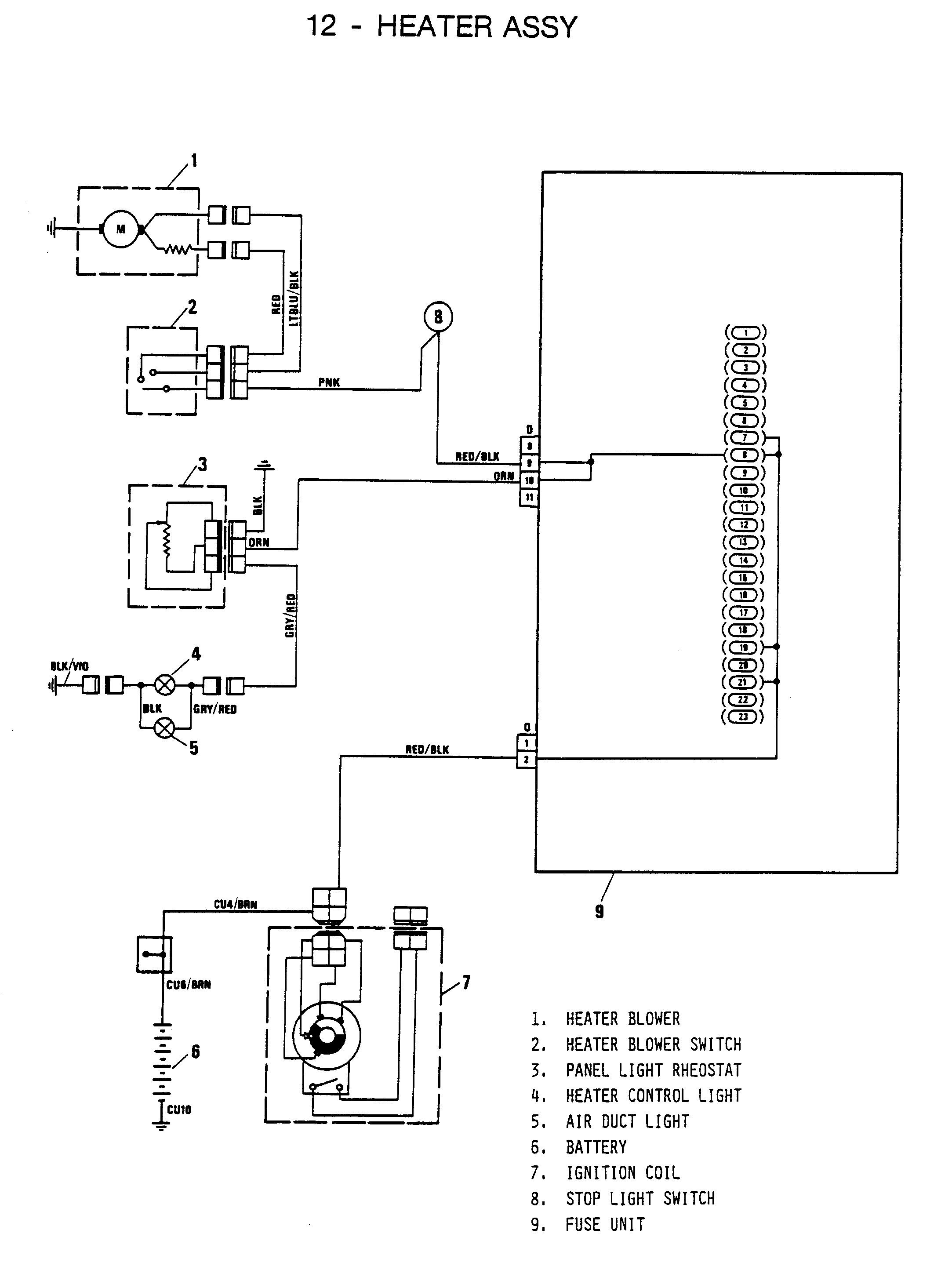 fiat x1 9 wiring diagram layout wiring diagrams u2022 rh laurafinlay co uk  Fiat Spider Wiring
