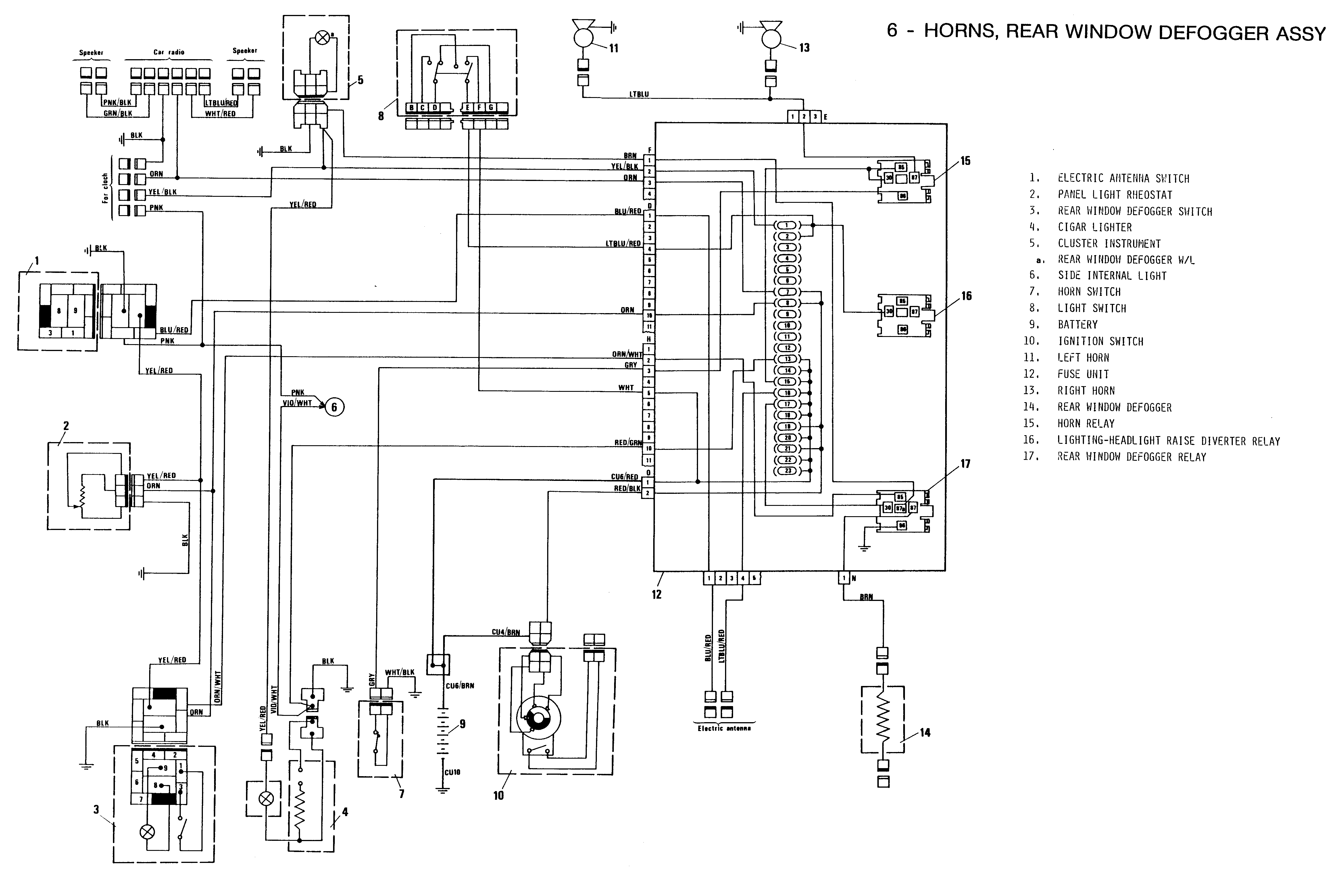 bertone_6 x1 wiring diagram light switch wiring diagram \u2022 wiring diagrams fiat punto fuse box diagram 2003 at n-0.co