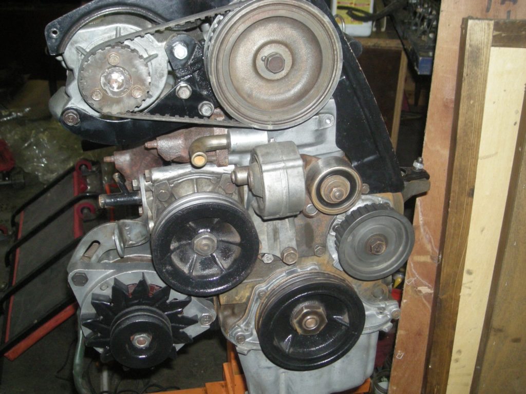 Engine Rebuild Front